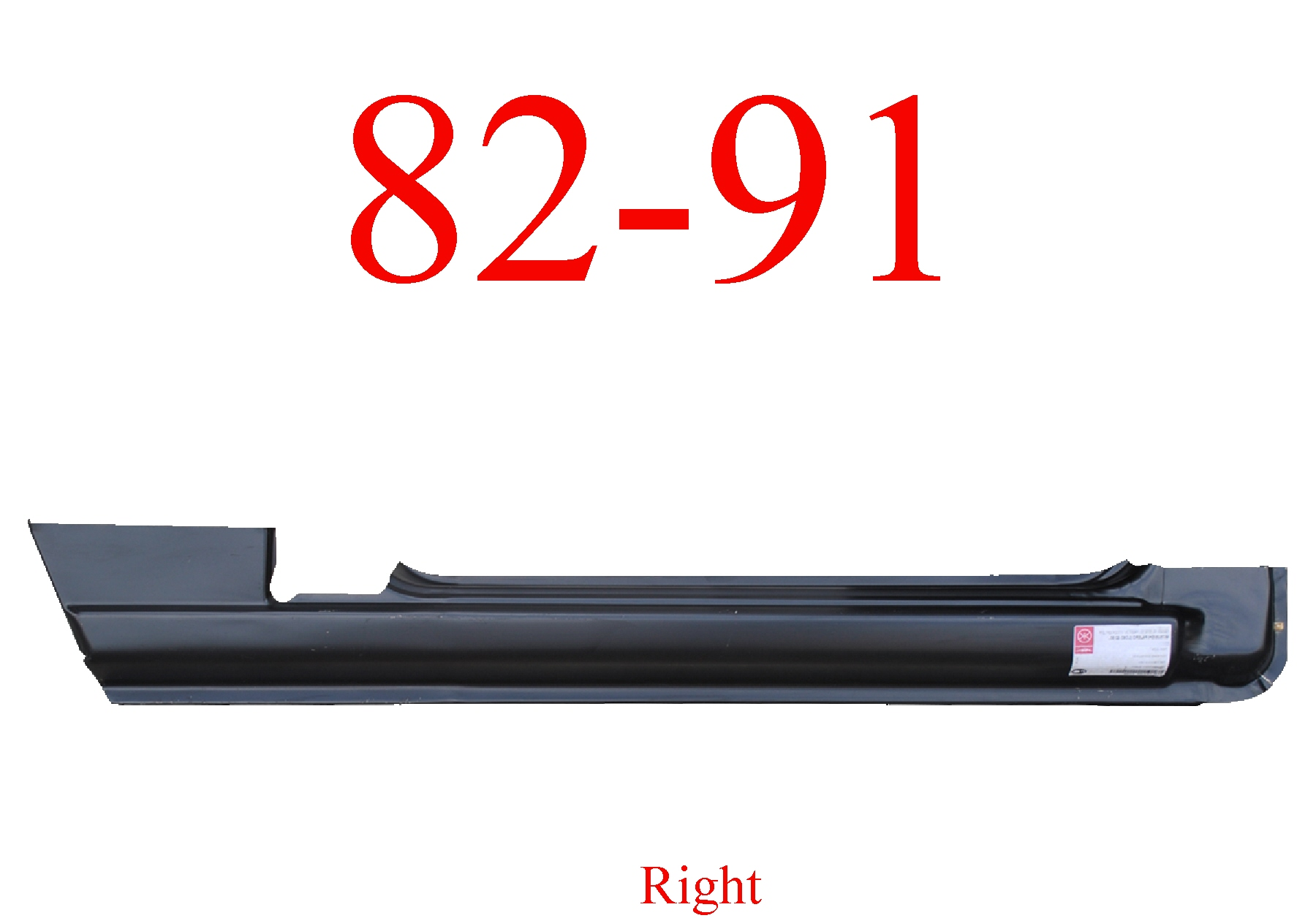 82-91 Mitsubishi Montero Right Rocker Panel